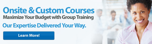Onsite & Custom Courses