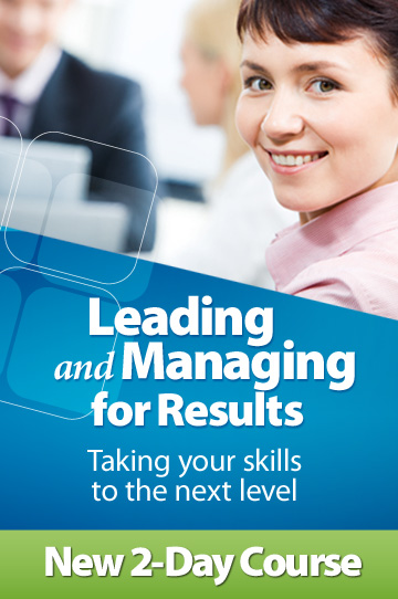 Leading and Managing for Results